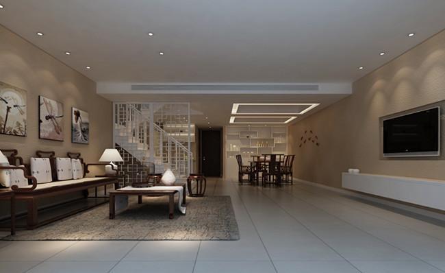 广润苑闵行复式楼装修效果图  设计理念: 户型:复式楼 风格:现代风格