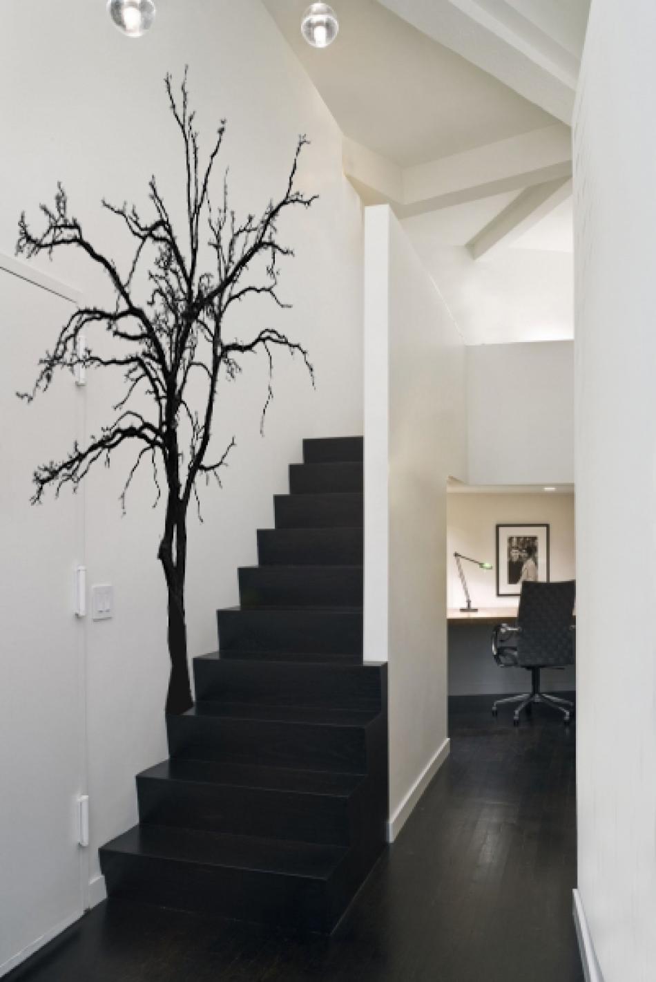 三居室现代风格_手绘墙画装修效果图-x团装修网