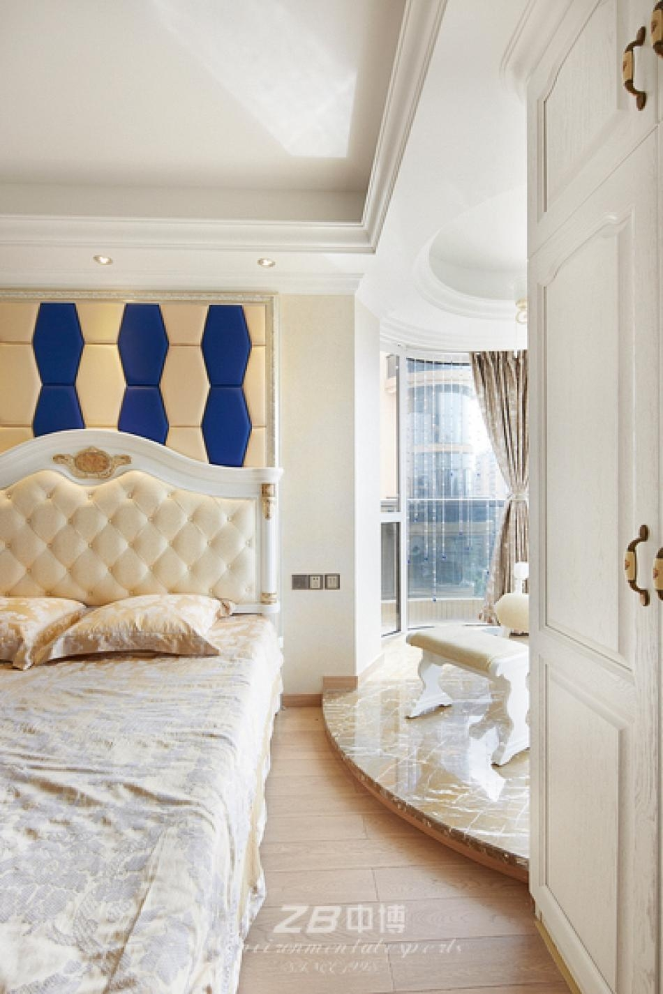背景墙 房间 家居 起居室 设计 卧室 卧室装修 现代 装修 950_1425 竖