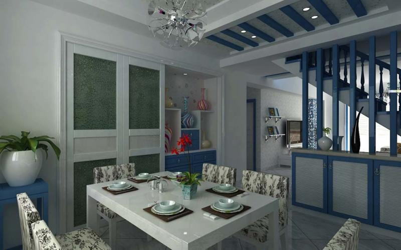 户型:复式楼 风格:地中海风格 装修类型:家装 装修方式:半包 面积:130图片