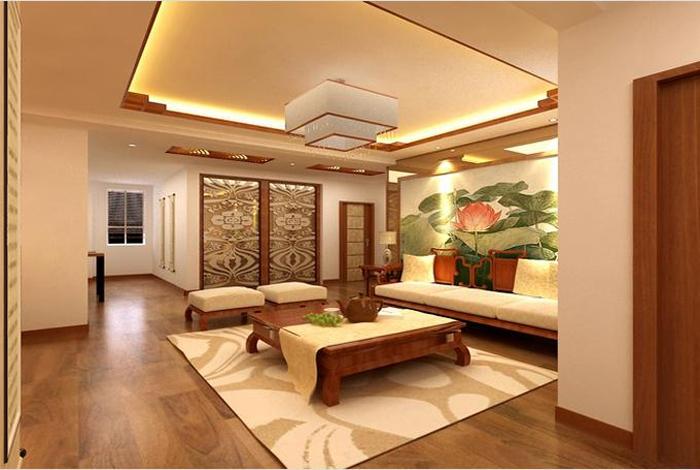 三居室中式风格_领秀e家装饰-太阳城碧桂园装修效果图图片