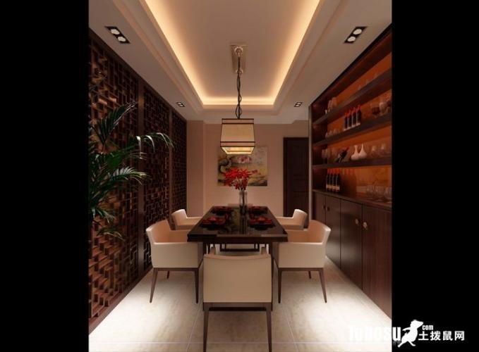 风格-三居室——120平米日韩风格装修效  户型:三居室 风格:中式风格图片