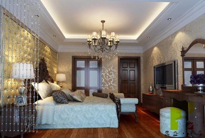 设计理念: 户型:四居室 风格:欧式风格 装修类型:家装 装修方式:半包