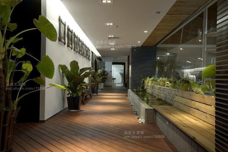 一居室中式风格_未来置业办公室装修效果图-x团装修网