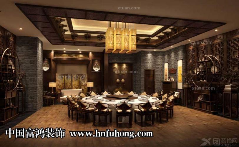 餐厅设计|餐饮设计|火锅店装修设计|富鸿装饰