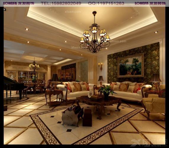 别墅欧式风格_维也纳森林别墅--美式风格案例