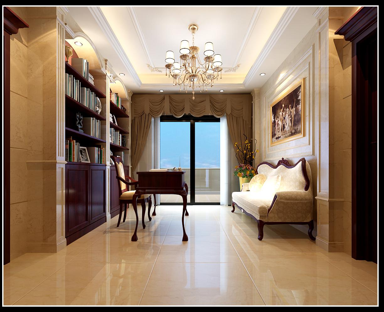 设计理念:作为复式的室内空间,延续了室外欧式的建筑风格,体现了整体大气的空间形式。高档的大理石材成为了此空间的主要材料选择。深浅石材所构成的图案,给了人高档、美观的视觉印象外,还具有一定的指向性。旋转楼梯中暗藏灯的使用,即刻画了台阶的轮廓,又在视觉和心里上减轻了楼梯的重量,似漫步云中,令人心旷神怡。
