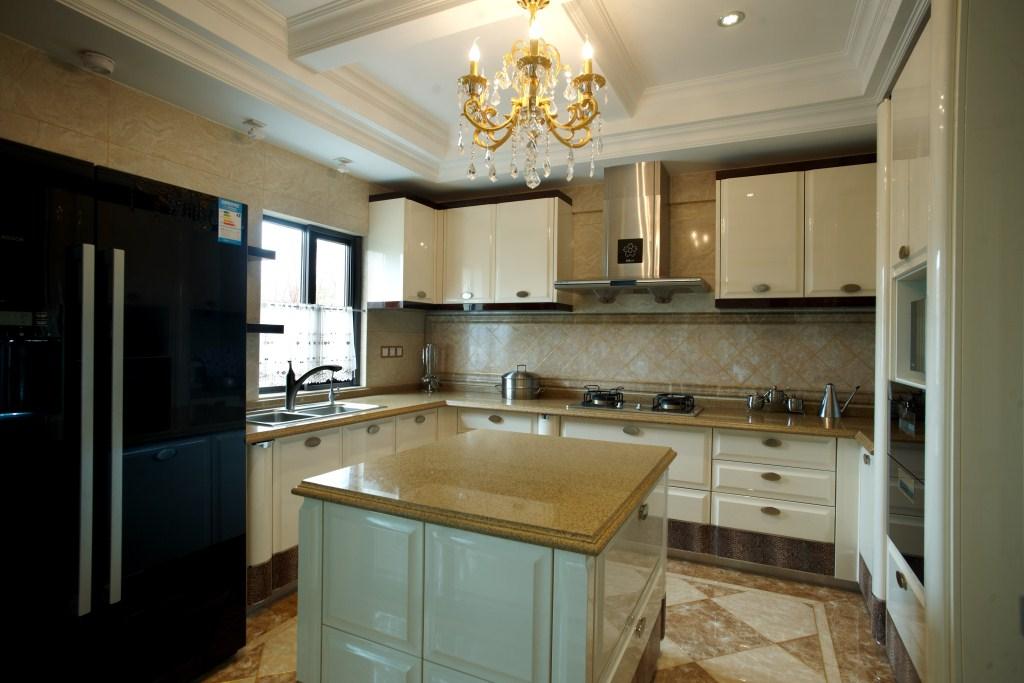 别墅厨房装修效果图欧式主卧室