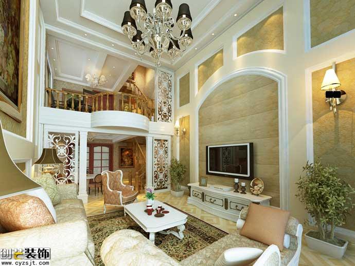 西式古典风格注重家居装饰设计的个性化,充分展示了欧式的装饰风格,并图片