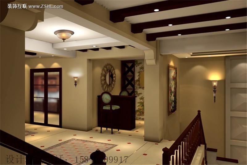 欧美风格室内装�_泰安容郡山语湖,四居室新中式设计风格装修效果图 京华城中城-欧美