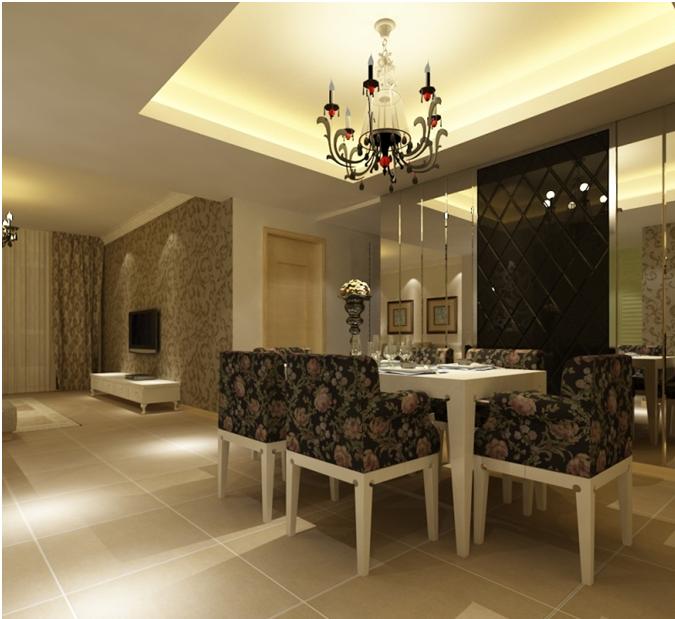 户型:三居室 风格:欧式风格 装修类型:家装 装修方式:半包 面积:125