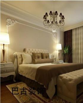 成品木线条,巴古装饰壁纸,地砖,石膏线条造型,茶色菱形镜,白色漆.