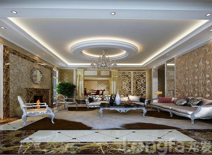 上海水都南岸200平大平层欧式风格设计