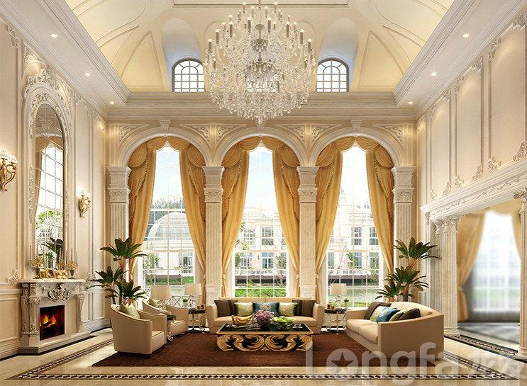上海东郊一号别墅美式风格设计