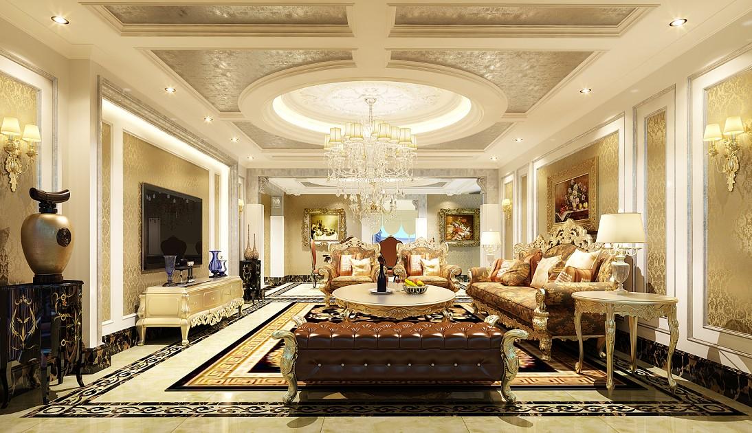 我们尽力为你解答装修上的疑惑 户型:别墅 风格:欧式风格 装修类型图片