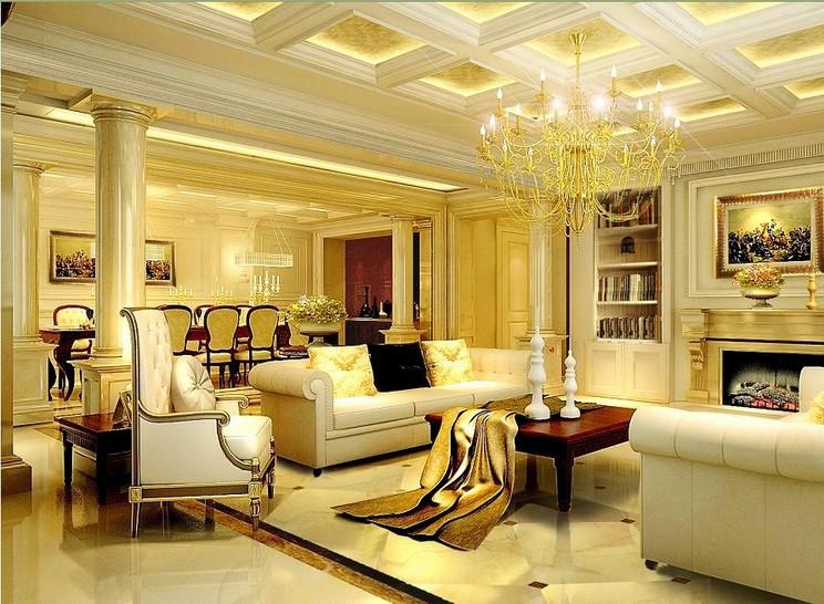 上海保利天鹅语别墅欧式风格设计