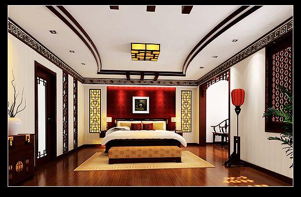 标签:四居室美式风格 设计理念: 本案为新中式风格的代表,书香世家图片