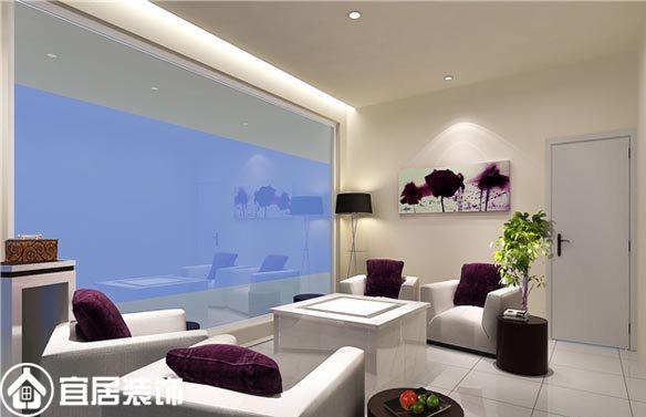 三居室现代风格 250平米现代风格高档美容美发店装修效果图 X团装修高清图片