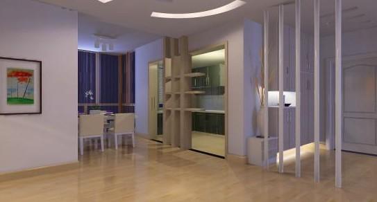 三居室现代风格_绵阳三汇绿岛