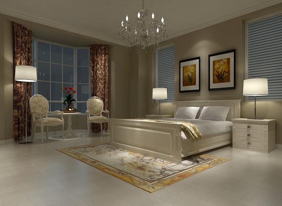 复式楼现代风格_卧室设计