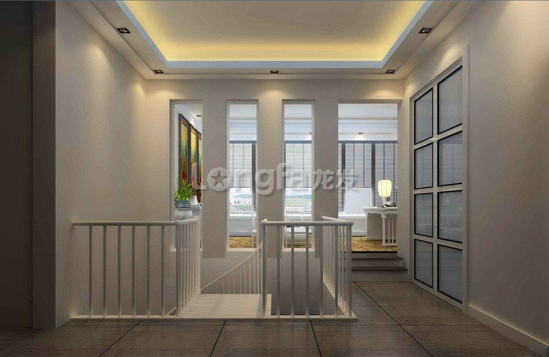80平房复试楼 复式楼二楼装修设计 复式楼吊顶装修效果图 高清图片