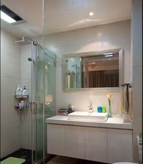 洗浴间装修效果图