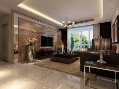 金泰假日花城-三居室-127平米-装修设计
