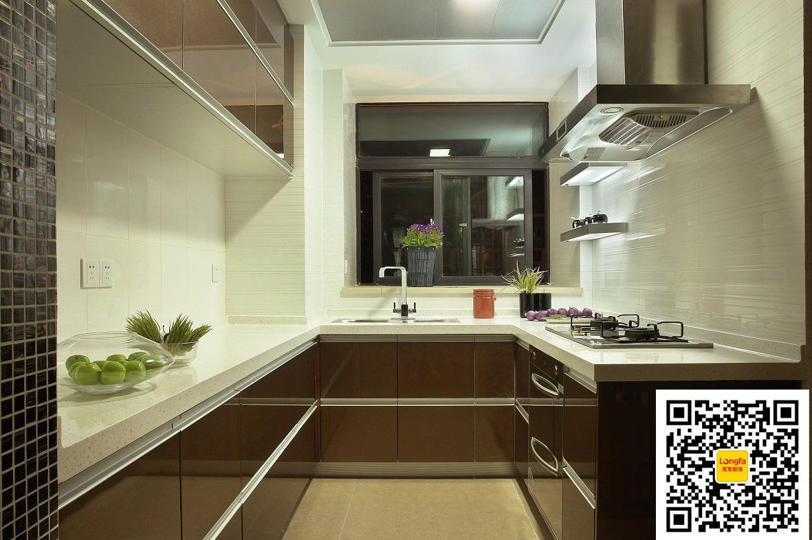 上海观澜泓郡四居室户型现代风格装修实景拍摄