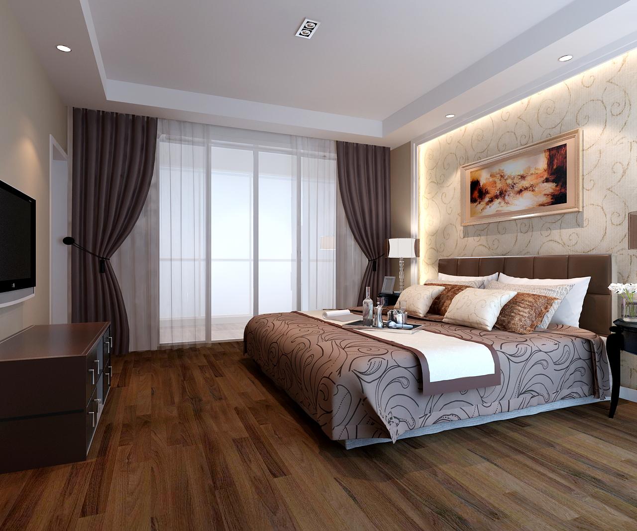 冠盛装饰-松江同济卧室