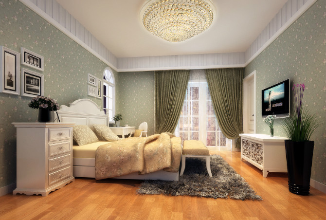 冠盛装饰-屏东城卧室