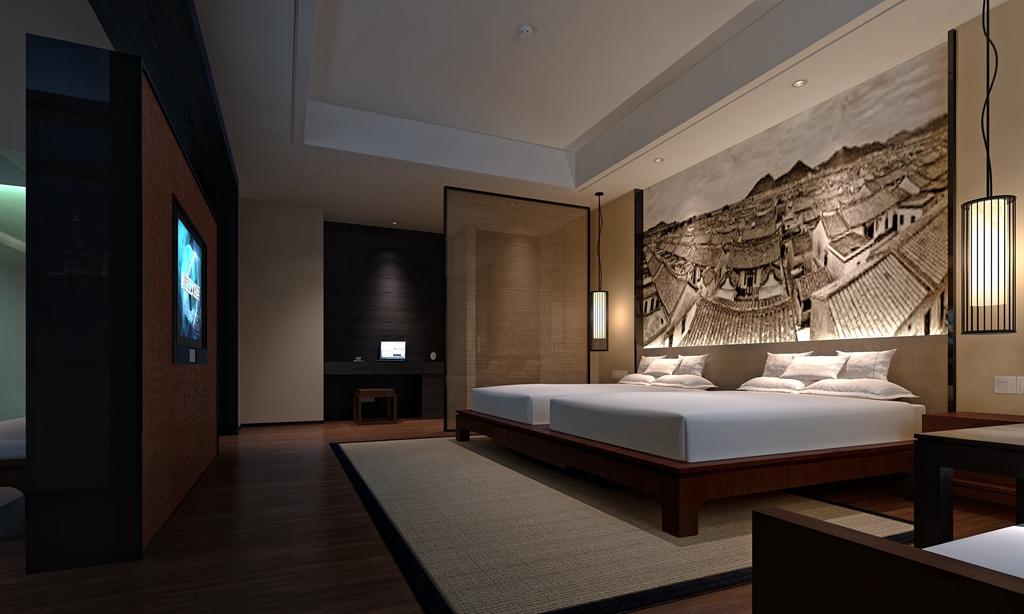 酒店的中式装修的设计说明