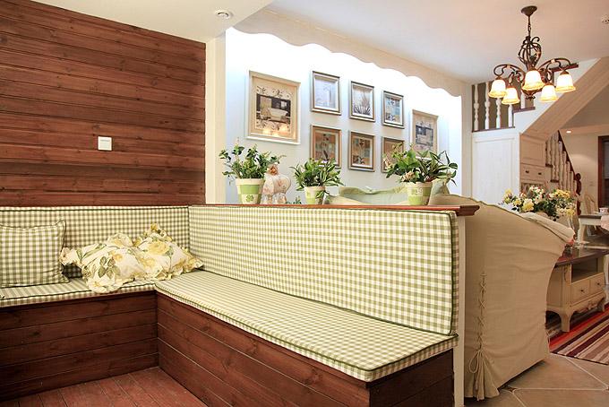 复式楼欧式风格厨房_复式户型欧式风格设计方案展示—