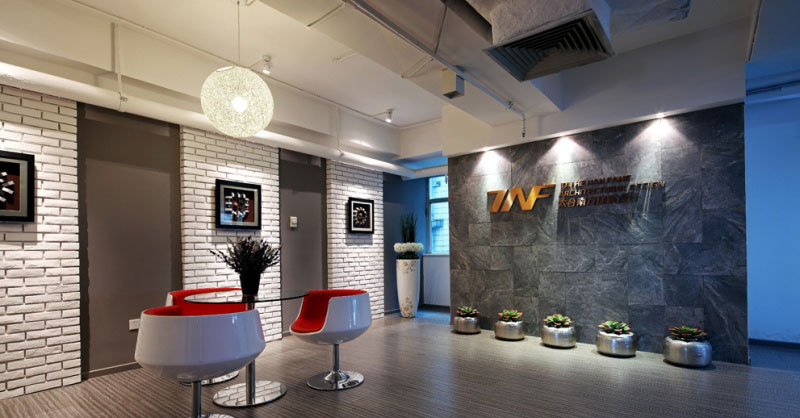 深圳建设集团大厦办公室设计