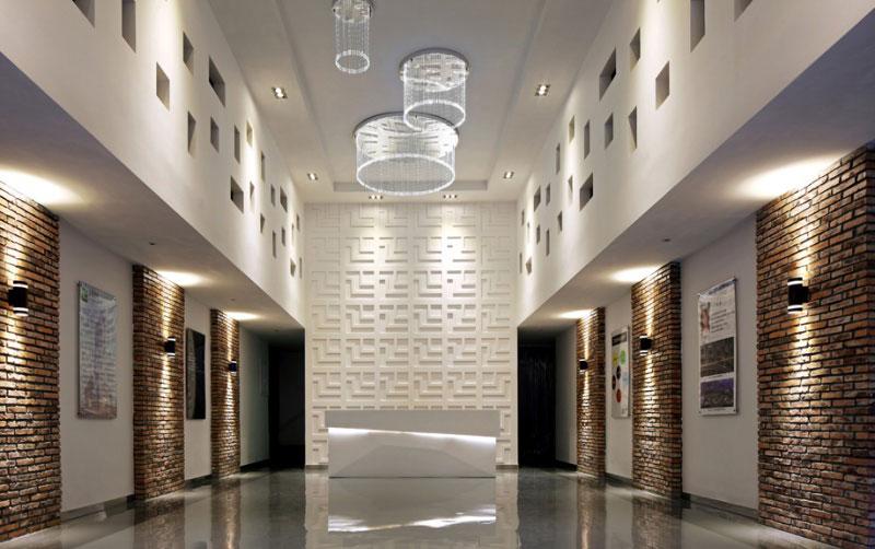 光之翼-深圳正茂光电公司办公室设计