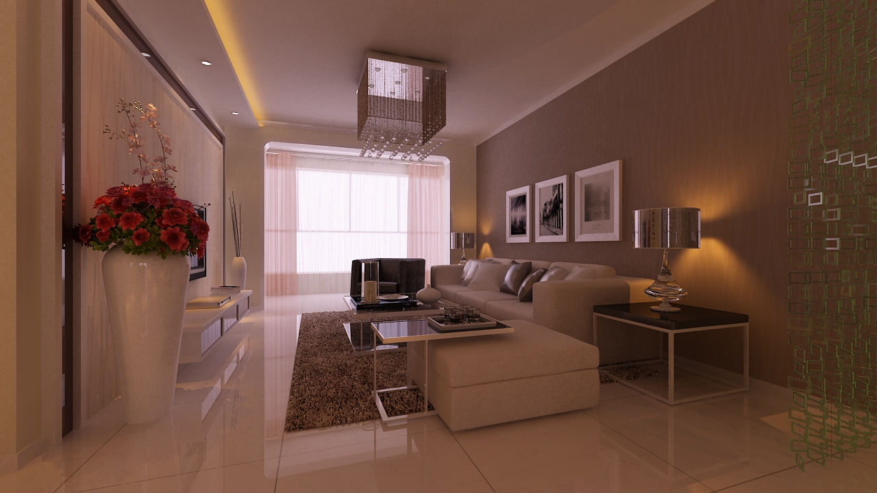 三居室欧式风格卧室软装_世纪花园装修效果图-x团装修图片