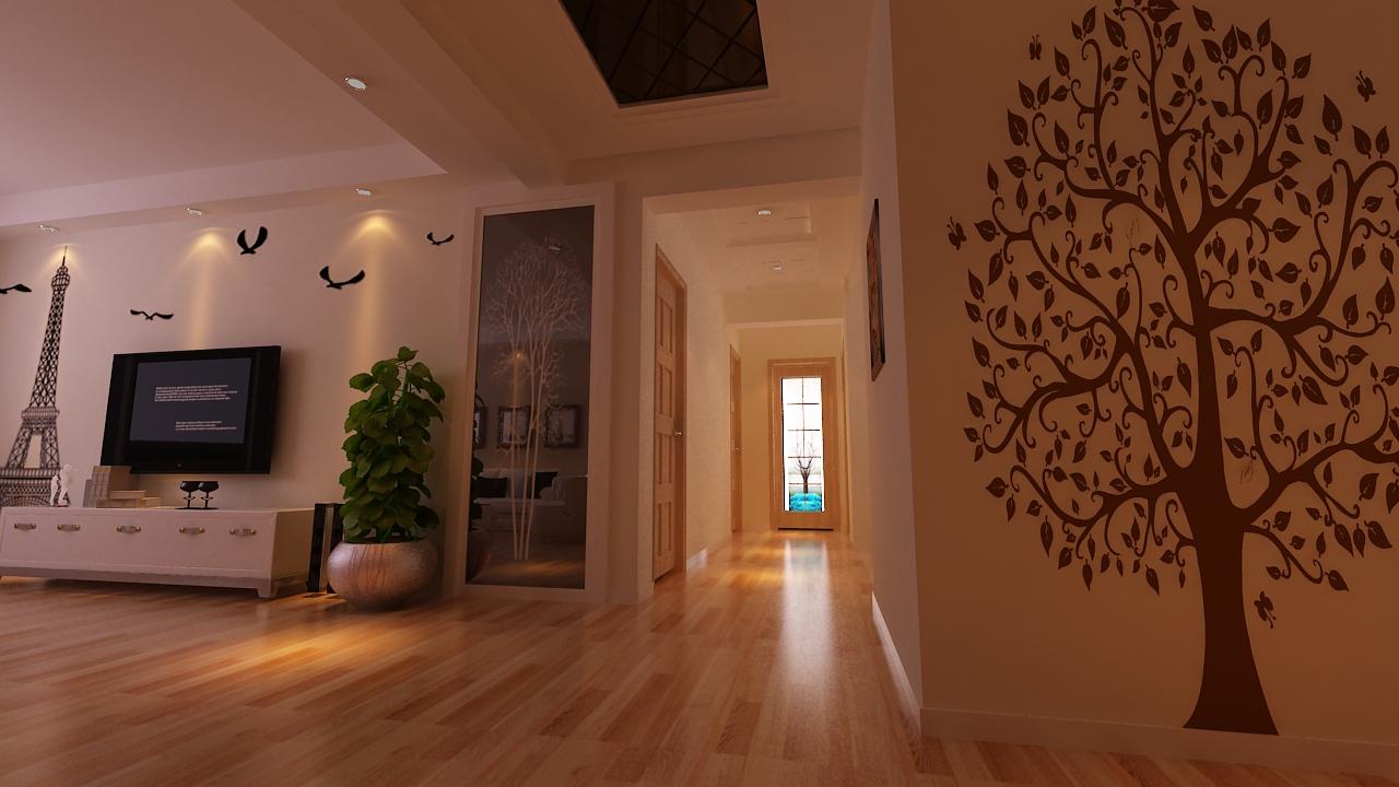 别墅欧式风格卧室沙发背景墙_伟浩御景广场图片