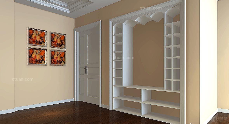 宜家风格欧式实木鞋柜简约现代白色