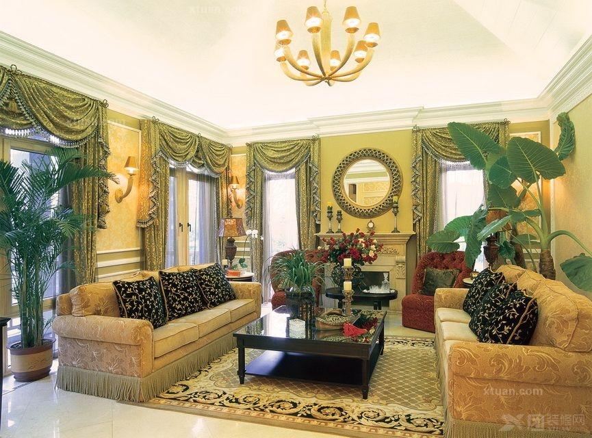 清风别墅198平美式风格实景拍摄上海龙发装饰