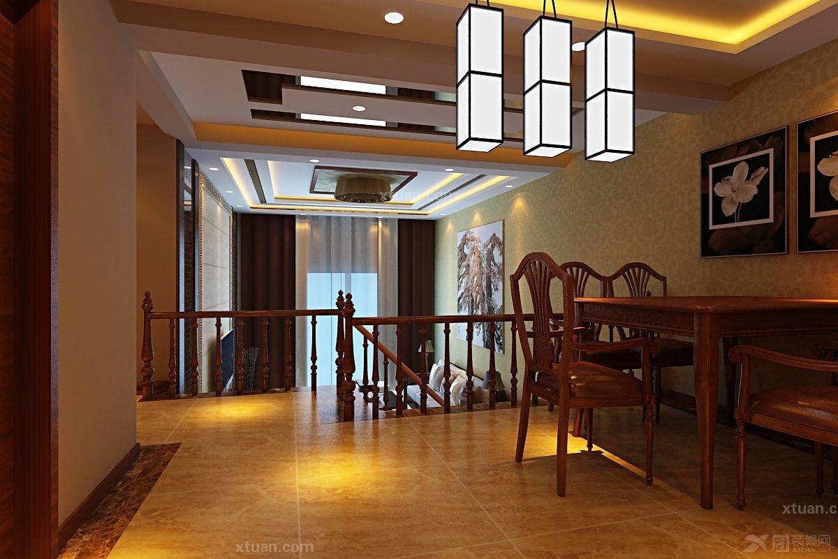古典的中式风格是以宫廷建筑为代表的中国古典建筑的