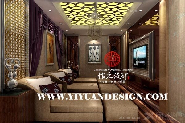 聊城罗马皇宫洗浴-青岛怡元设计,青岛装修设计,洗浴设计,青岛洗浴设计