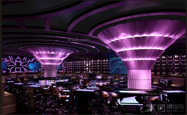 时尚BAR娱乐会所装修设计方案