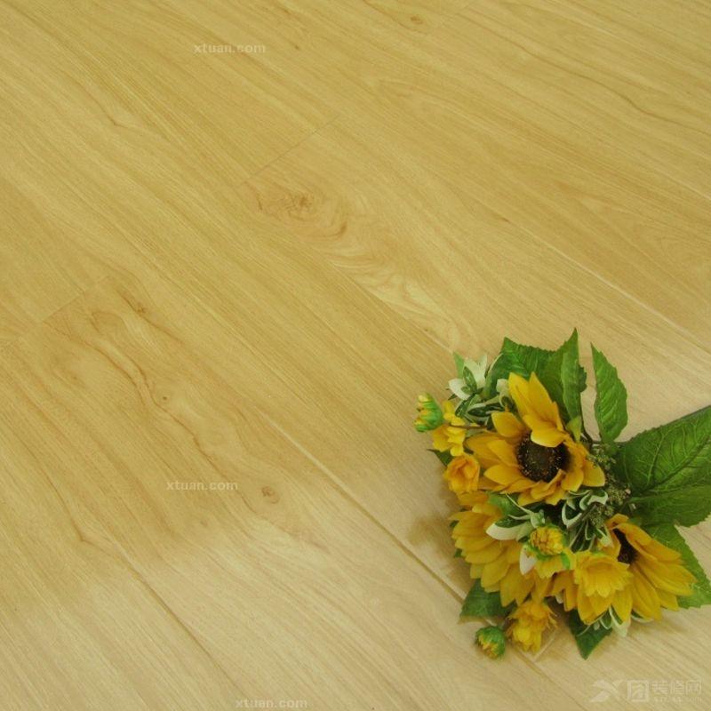 龙叶地板--芬兰橡木室内铺装装修效果图