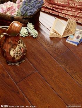 龙叶地板--彼得大帝天然橡木室内铺装装修效果图