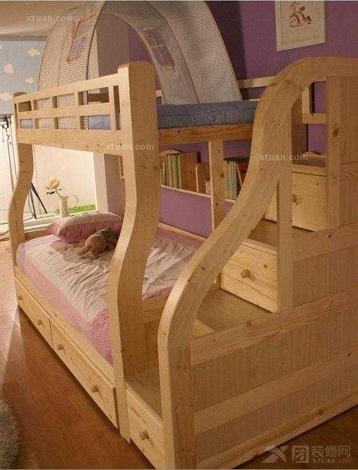 实木书架玩具架