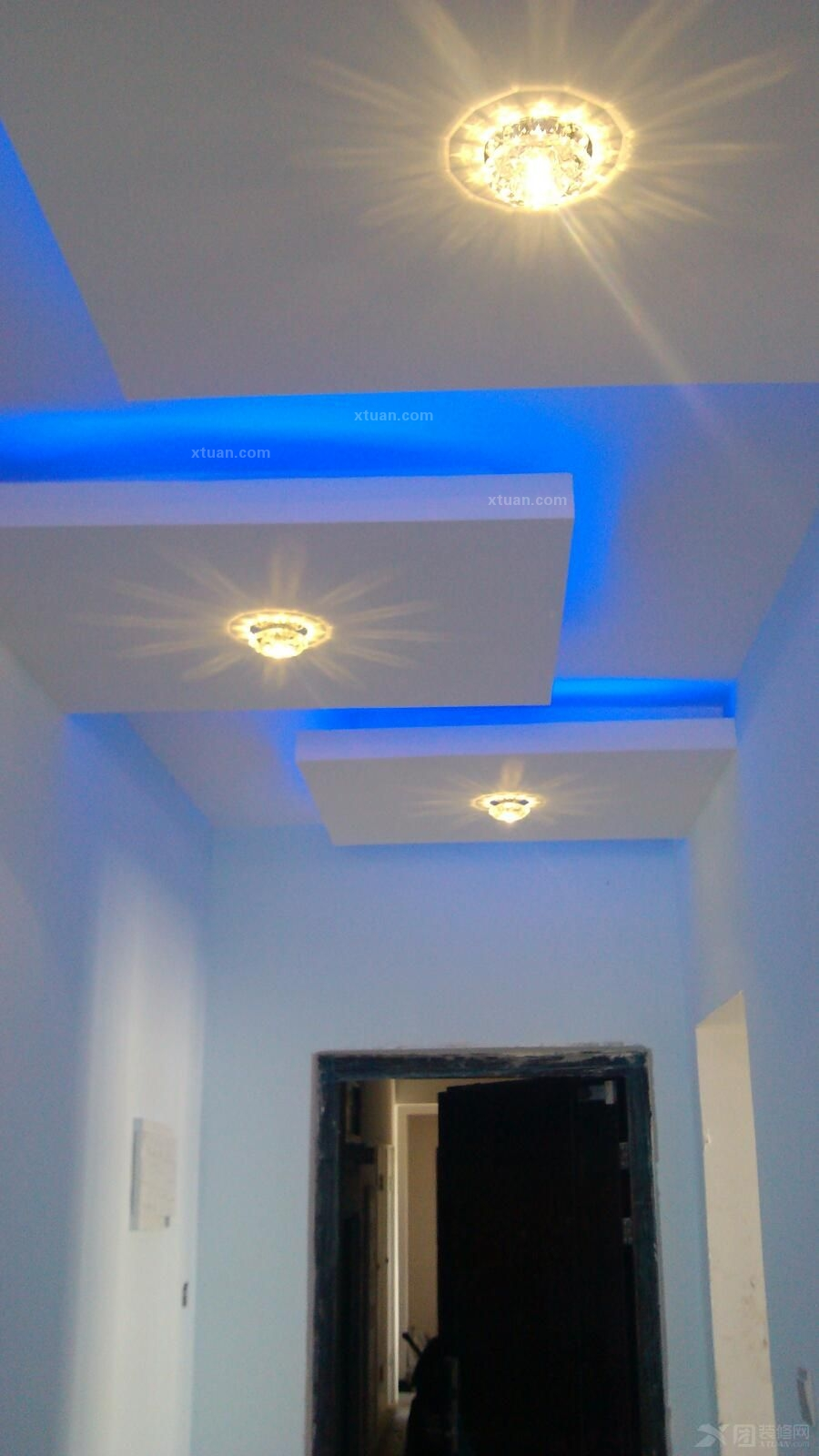 家装led灯具照明-灯带装修效果图