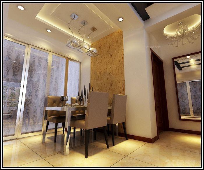 餐厅背景墙木工装修