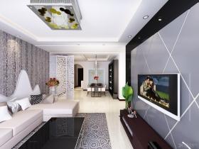 最热三室一厅装修效果图