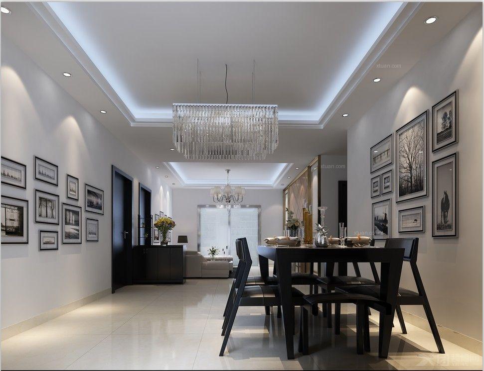 意小利西餐厅装修效果图  户型:三室两厅 房间:餐厅 风格:现代简约