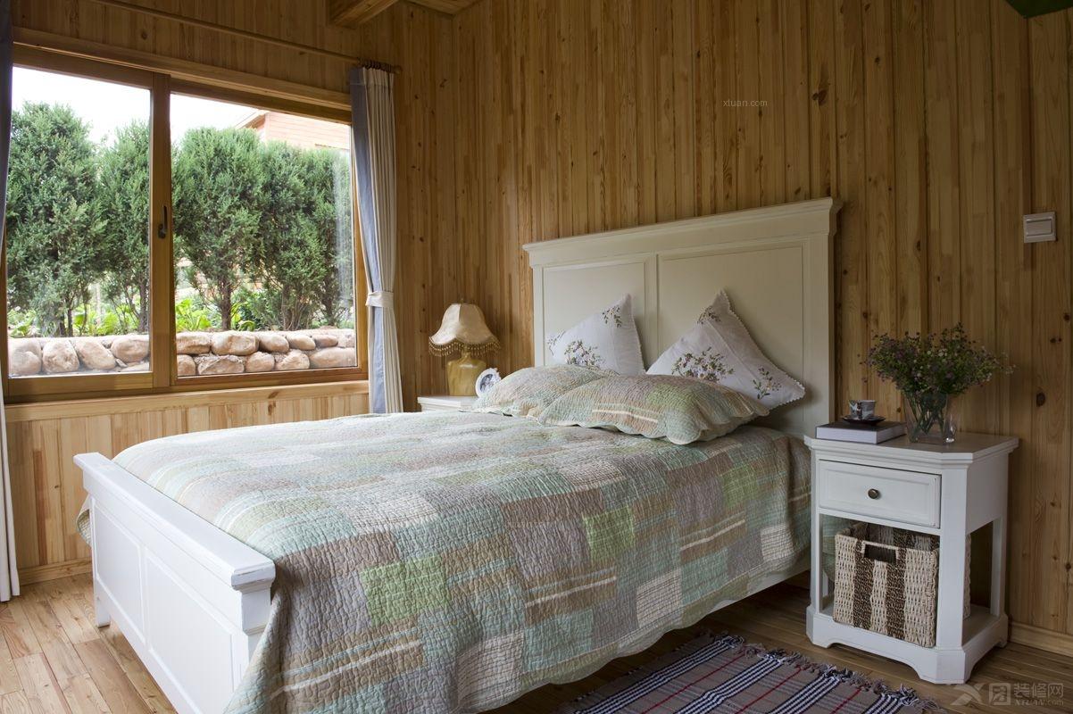 度假别墅美式风格尚层装饰设计案例装修效果图图片