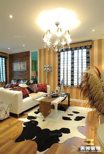 户型:单身公寓 风格:现代风格 装修类型:家装 装修方式:半包 南通